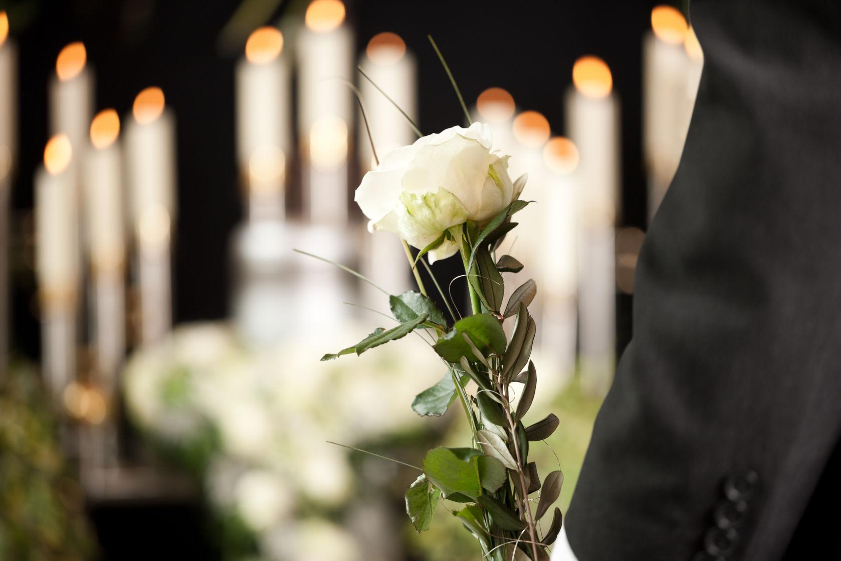 En mindeværdig afsked og begravelse i Lyngby